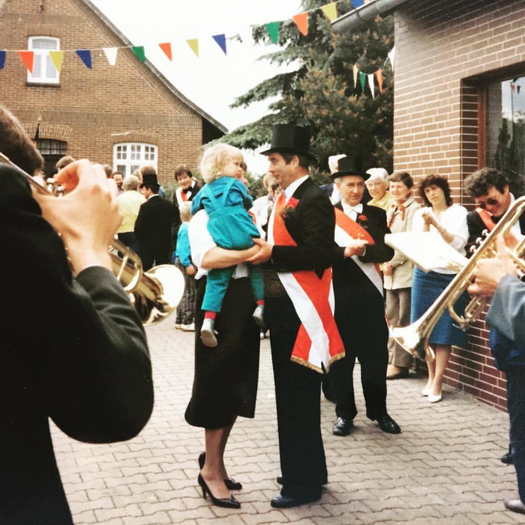 Schützenfest Münchehagen im Juni 1987.
